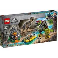 75938 T-rex vs Dino-Mech Battle