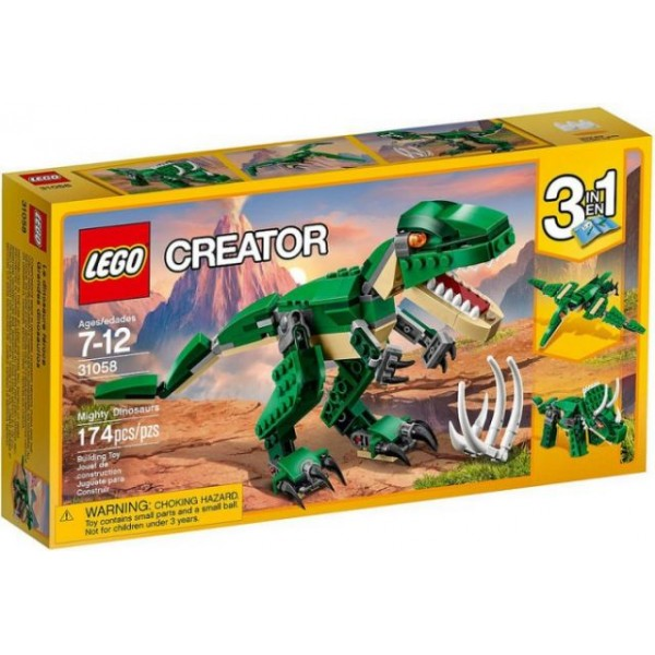 31058 Mighty Dinosaurs