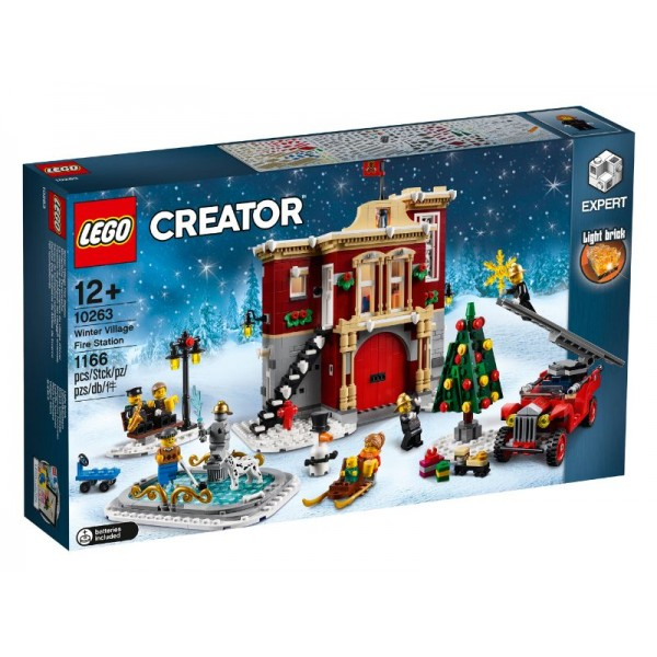 10263 Winter Village Fire Station