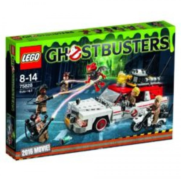 75828 Ghostbusters Ecto 1 & 2
