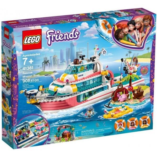 41381 Rescue Mission Boat