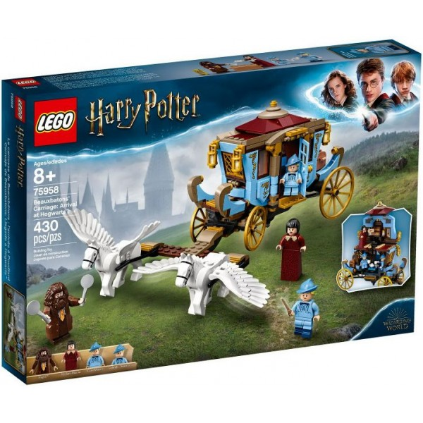 75958 Beauxbatons' Carriage: Arrival at Hogwarts