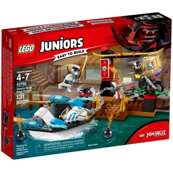 10755 Zane's Ninja Boat Pursuit
