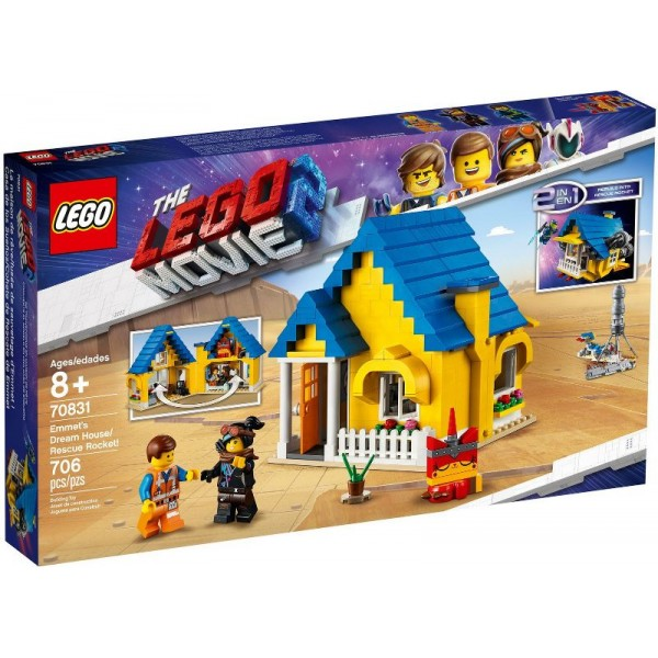 70831 Emmet's Dream House/Rescue Rocket