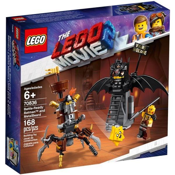 70836 Battle-Ready Batman and MetalBeard
