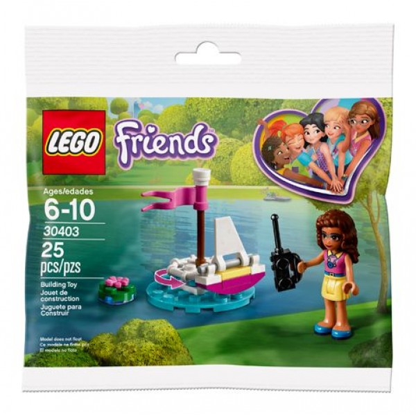 30403 Olivia's Remote Control Boat polybag
