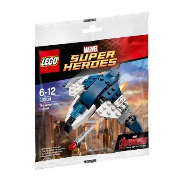 30304 The Avengers Quinjet polybag