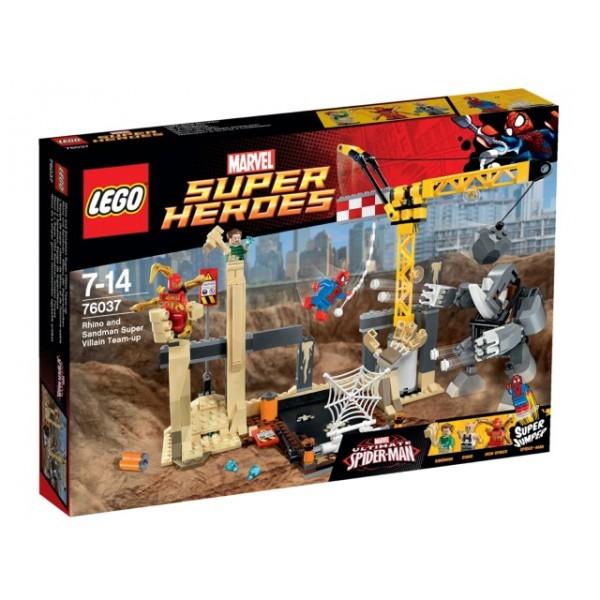 76037 Rhino and Sandman Super Villain Team-up