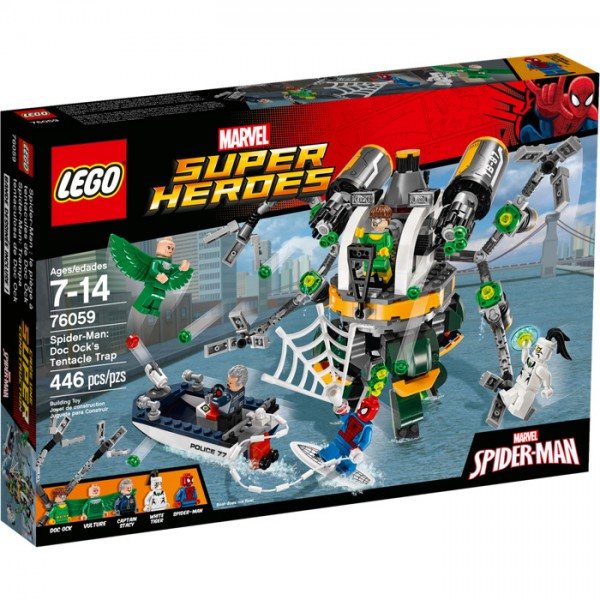 76059 Spider-Man: Doc Ock's Tentacle Trap